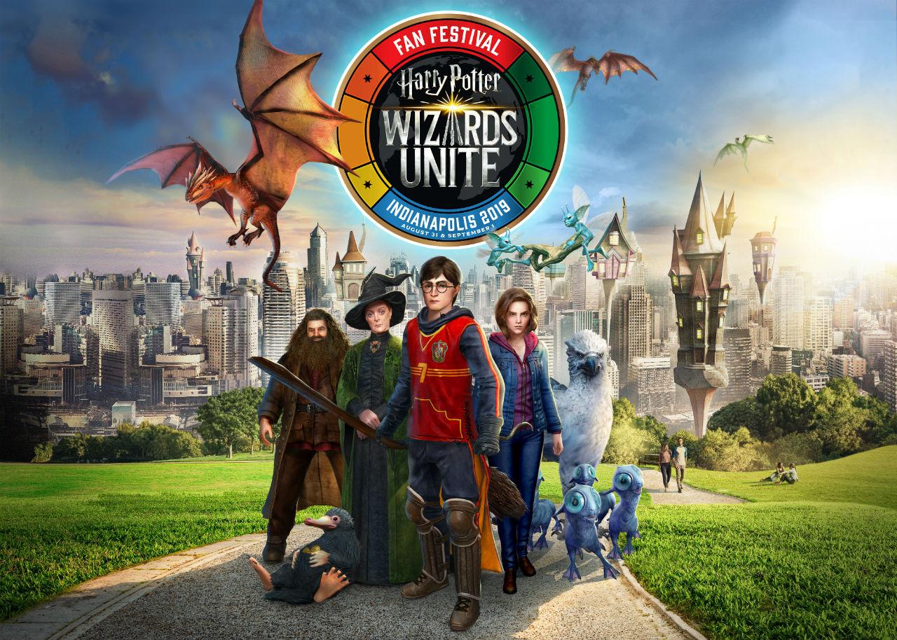 Harry Potter: Wizards Unite Fan Festival - Key Art