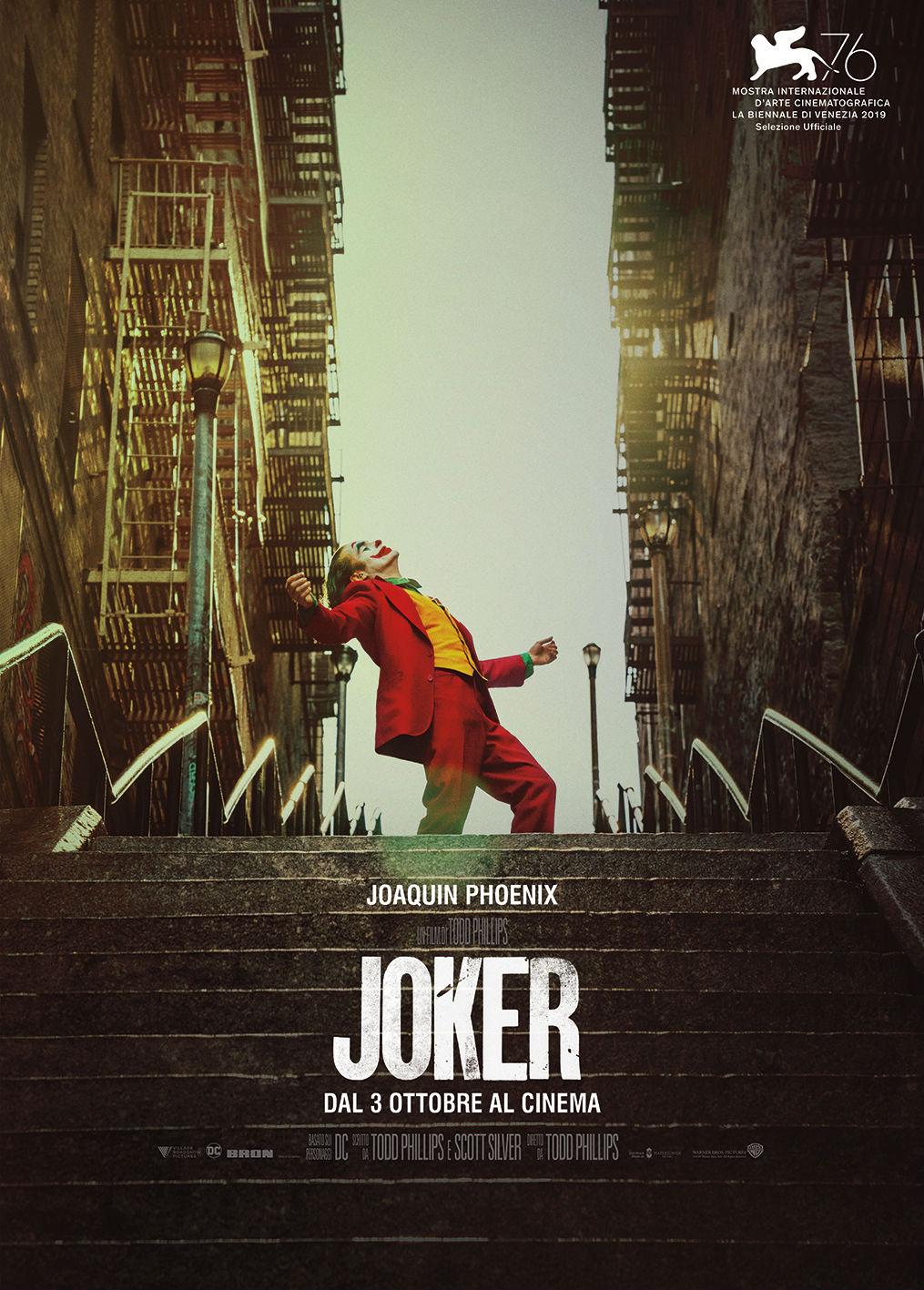 Joker - Poster Ufficiale Italiano del film