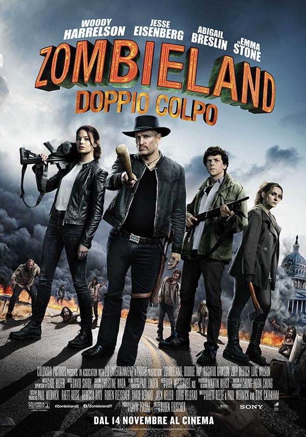 Zombieland – Doppio Colpo_Poster Italia