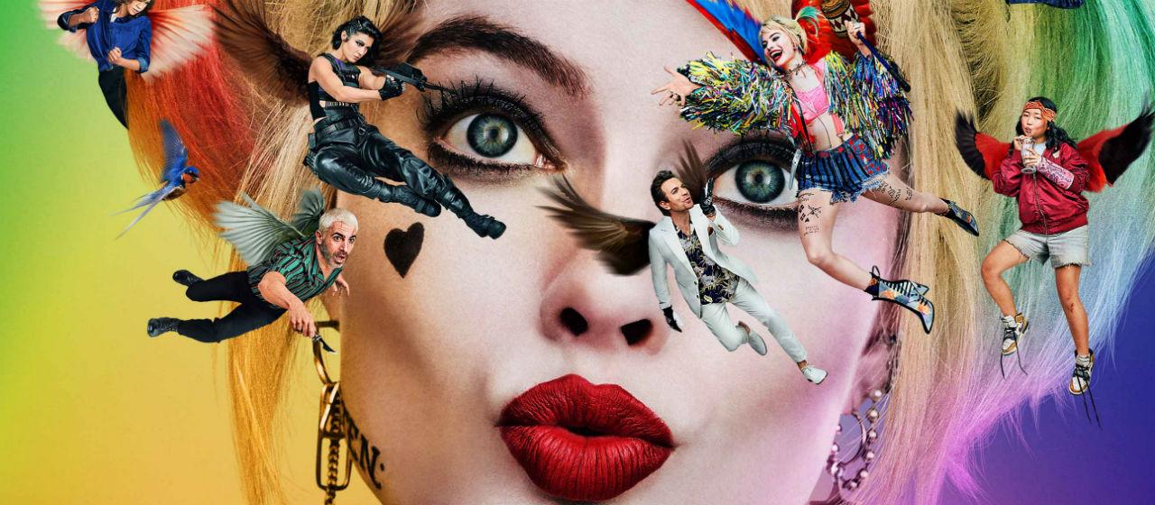 Birds of Prey (E la fantasmagorica rinascita di Harley Quinn) - Dettaglio del Teaser Poster Ufficiale italiano del Film