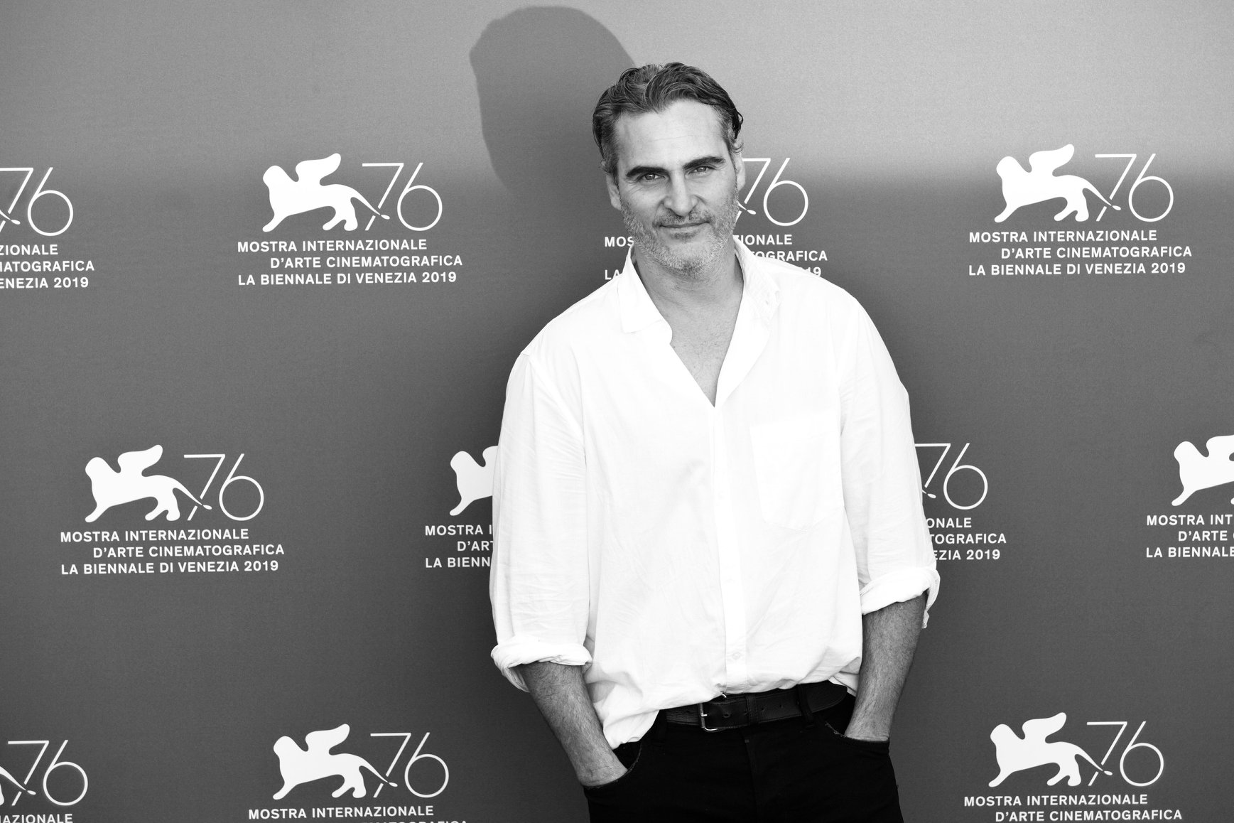 Joaquin Phoenix Photocall per Joker film in concorso al Festival del cinema di Venezia 1