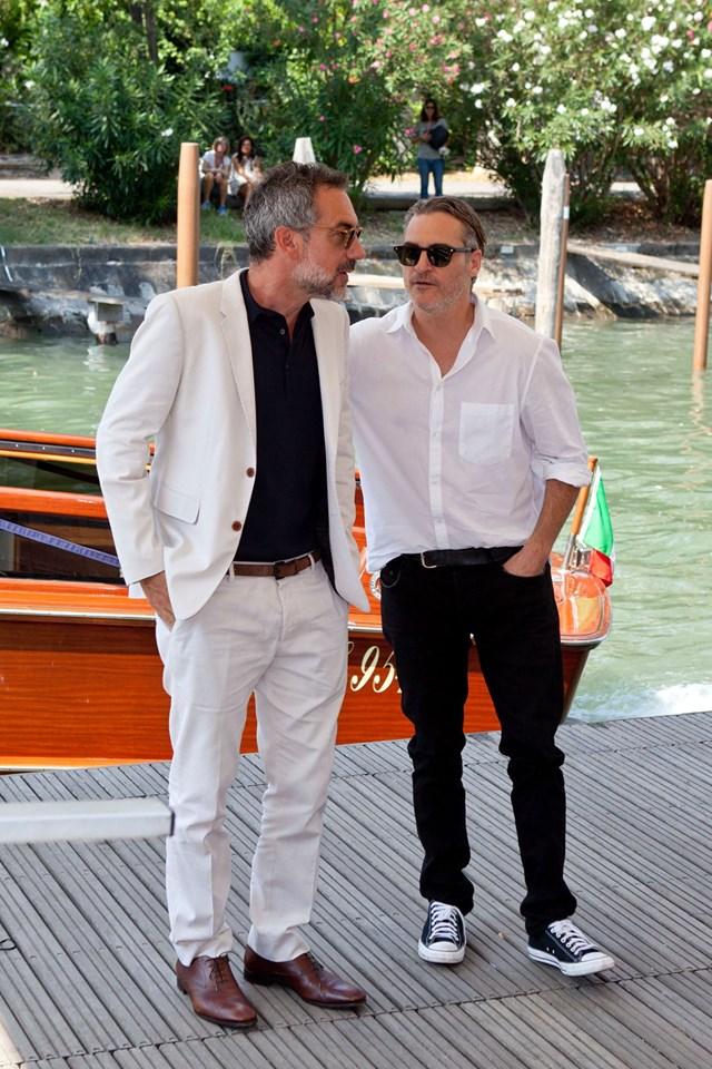 Joaquin Phoenix e Todd per Joker film in concorso al Festival del cinema di Venezia 1