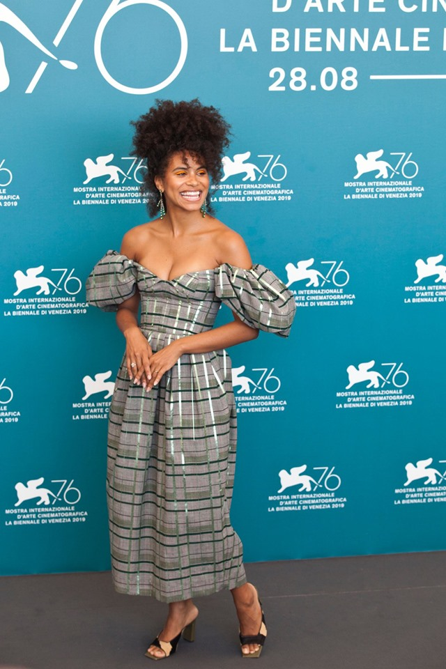 Zazie Beetz Photocall per Joker film in concorso al Festival del cinema di Venezia 5