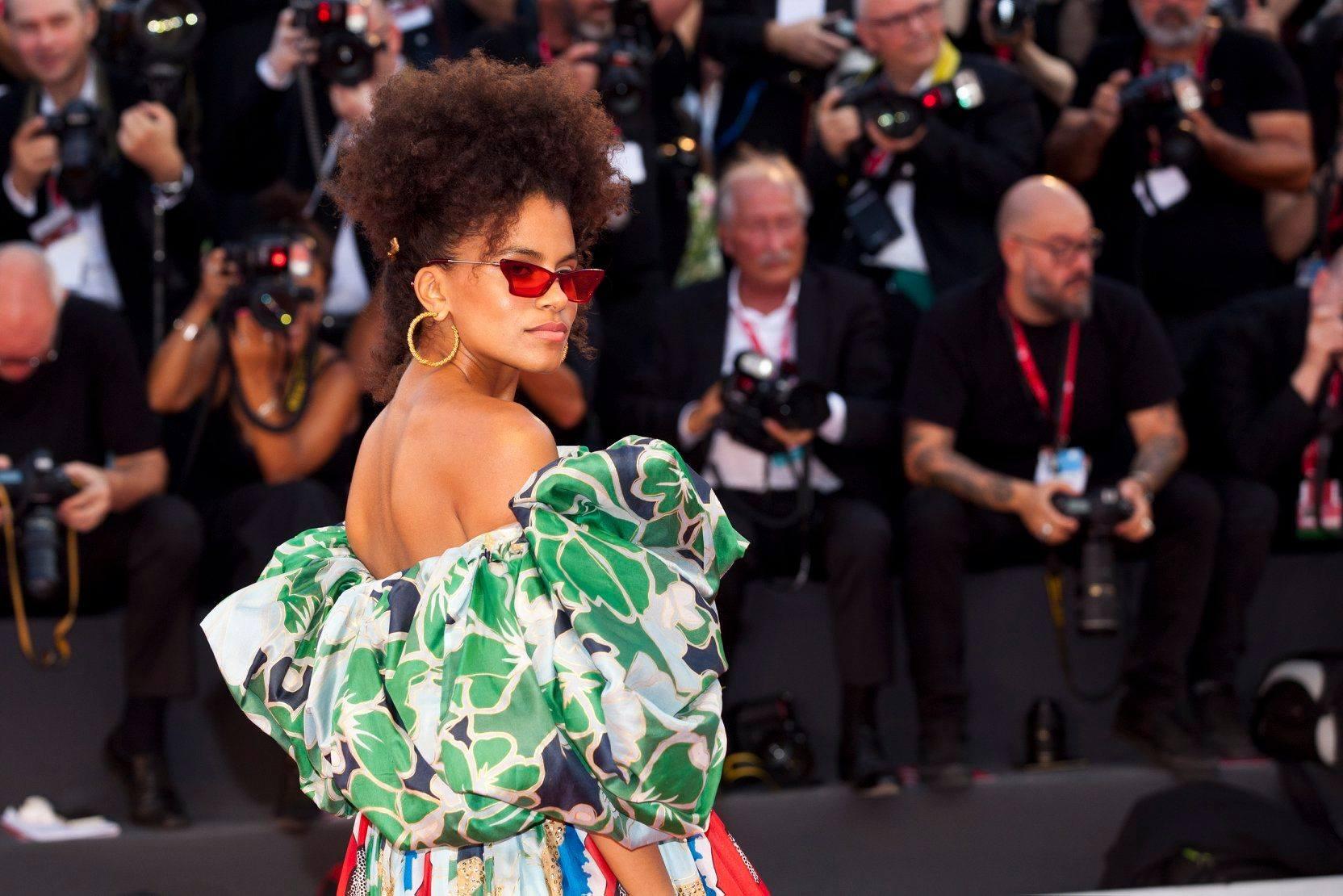 Zazie Beetz Red Carpet per Joker film in concorso al Festival del cinema di Venezia 4