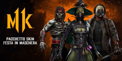 Mortal Kombat 11 pronto a ospitare l'evento in-game a tema Halloween