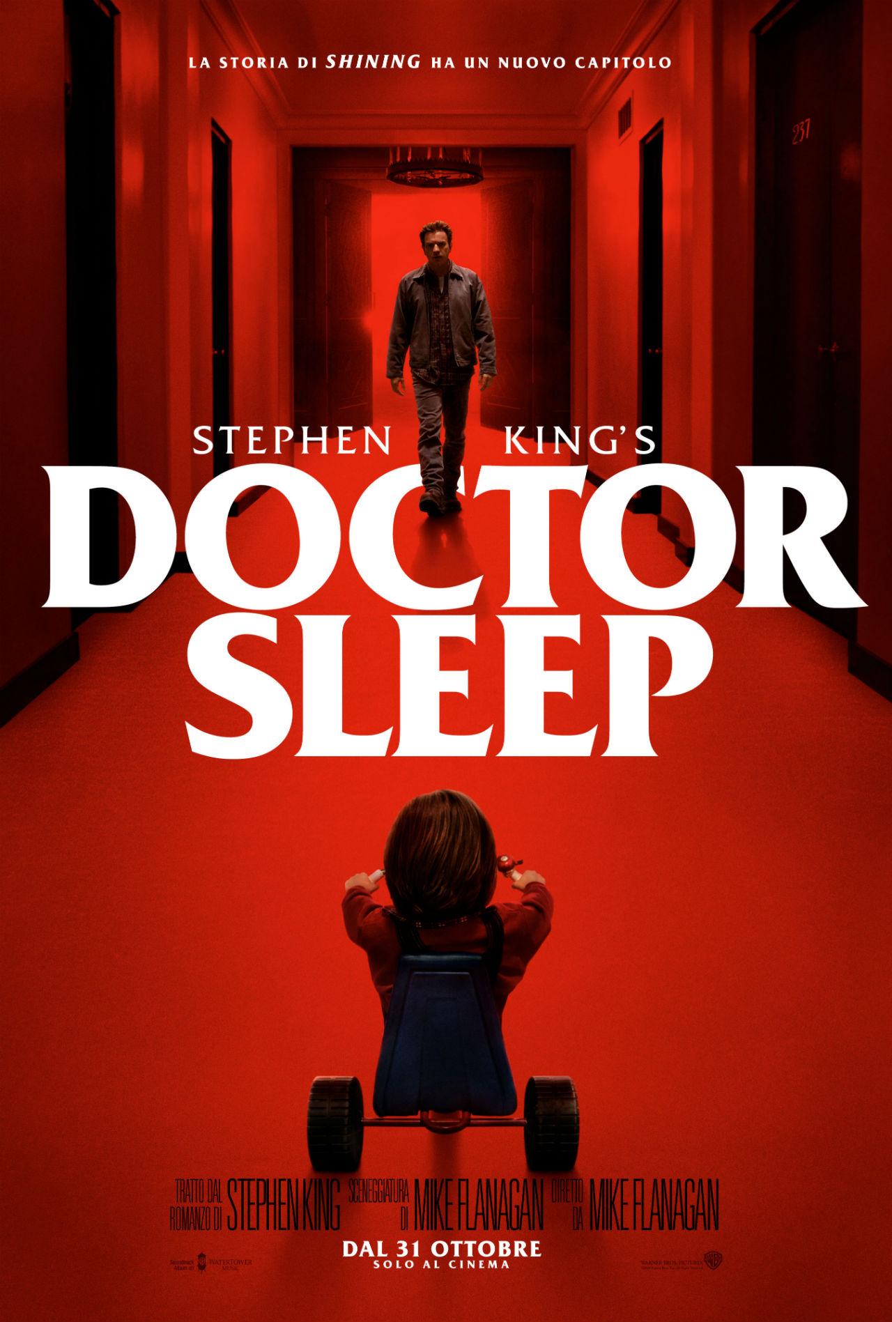 Doctor Sleep - Poster Ufficiale Italiano del film