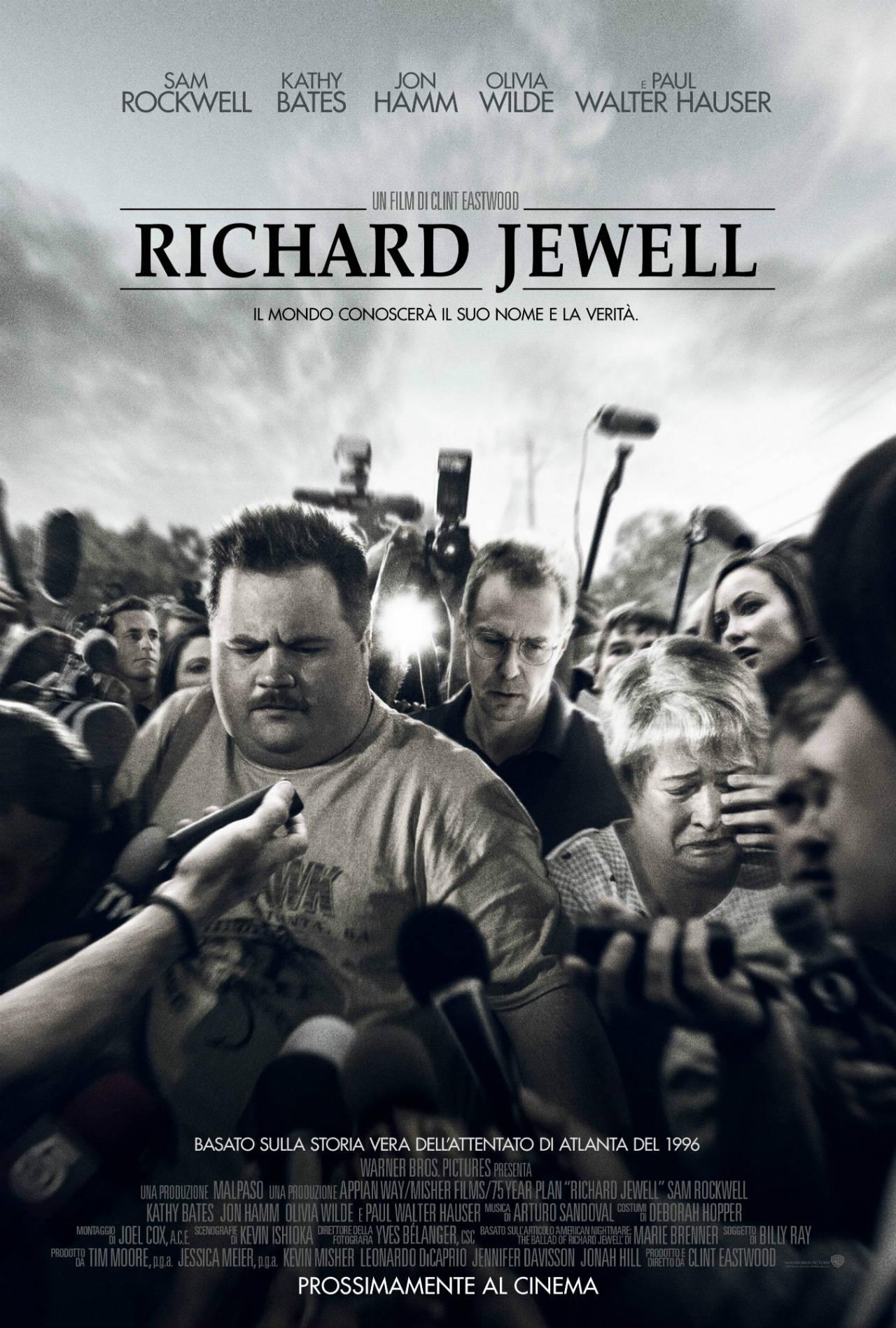 Richard Jewell - Poster e Trailer Ufficiale Italiano del film