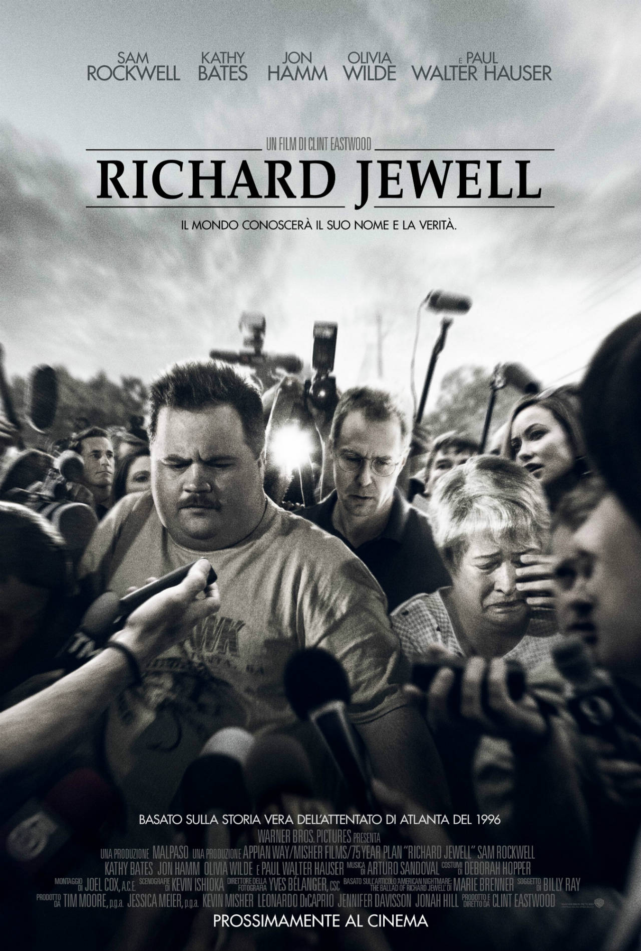 ITA_RDJWL_VERT_MARichard Jewell - Poster Ufficiale Italiano del film