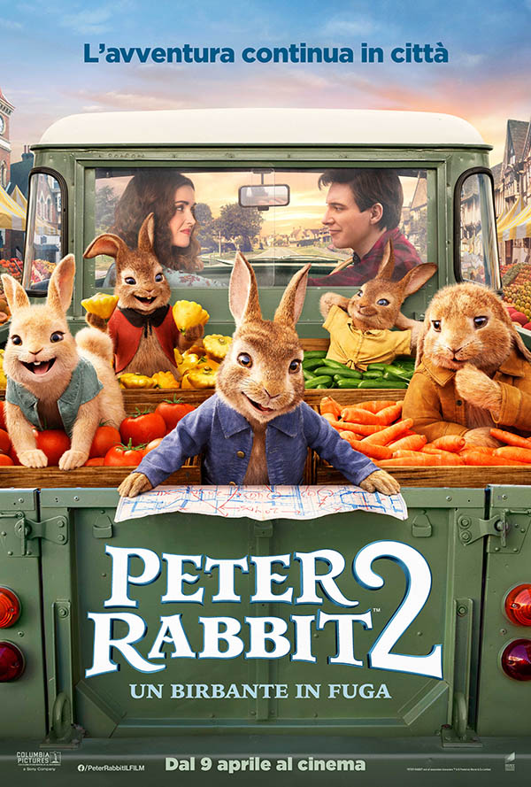 Peter Rabbit 2   Un birbante in fuga_Poster Italia