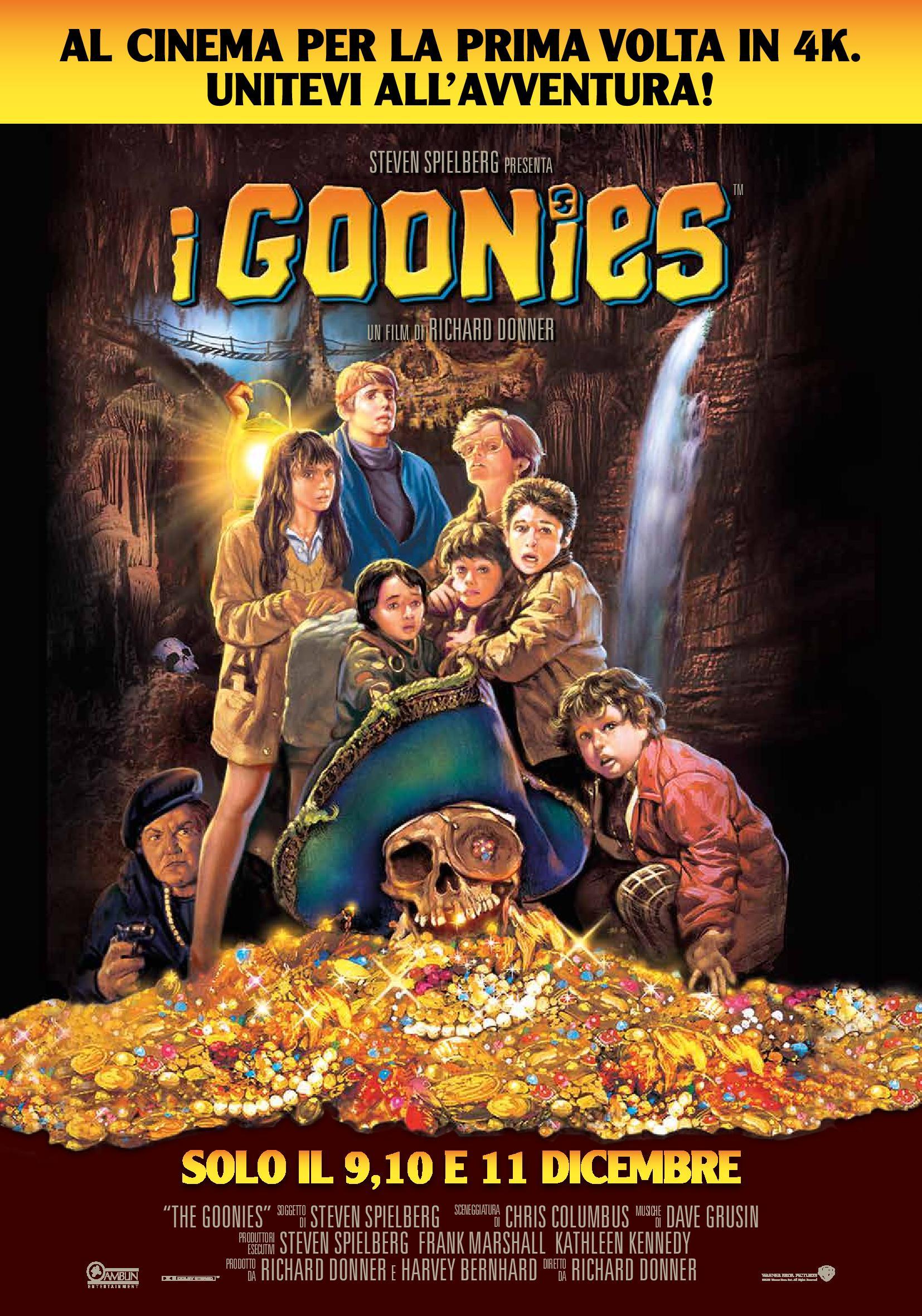 I Goonies - Poster Ufficiale Italiano