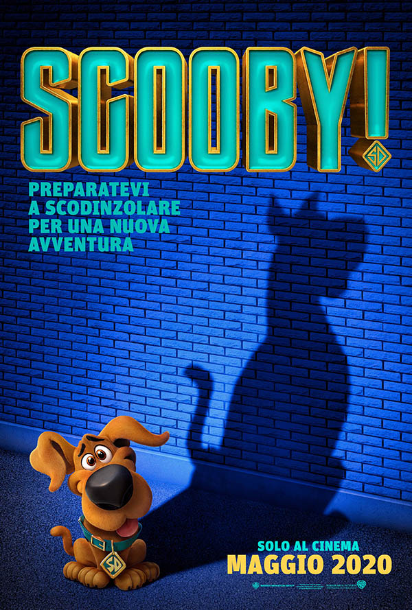 Scooby_Teaser Poster Italia