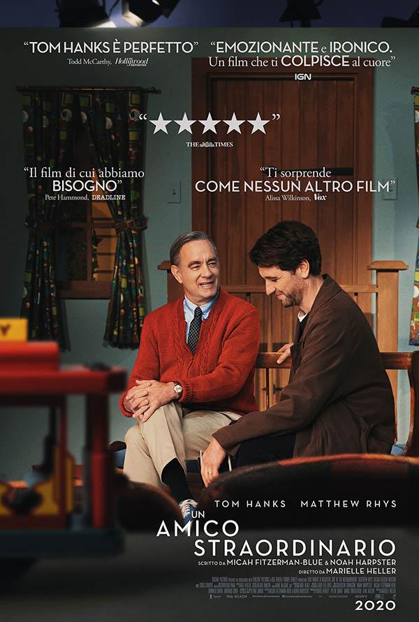Un amico straordinario_Poster Italia