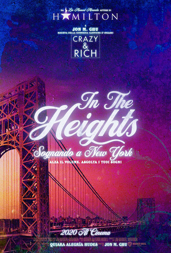 In The Heights – Sognando a New York_Teaser Poster Italia