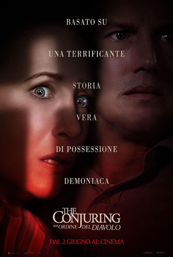The Conjuring   Per ordine del Diavolo_Poster Italia