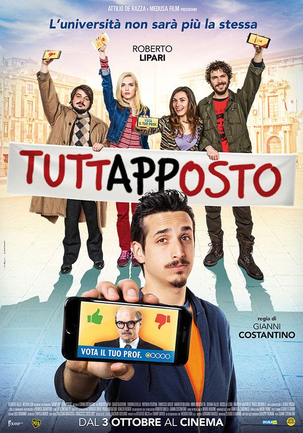 Tuttapposto_Poster Italia