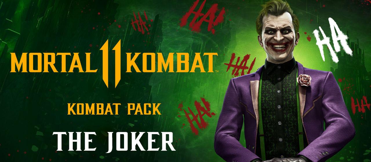 TAL KOMBAT 11 - Kombat Pack THE JOKER