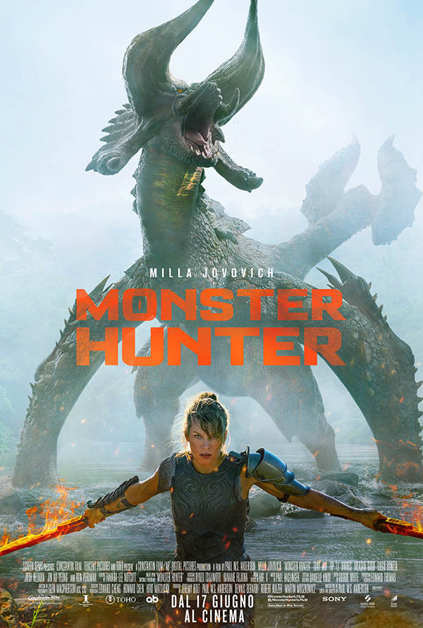 Monster Hunter_Poster Italia