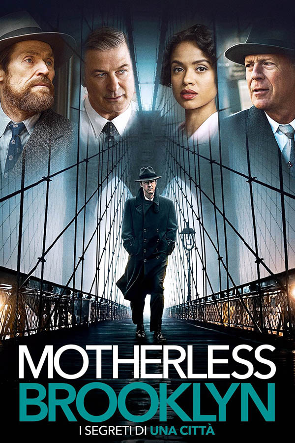 Motherless Brooklyn   I segreti di una città_Poster Digital