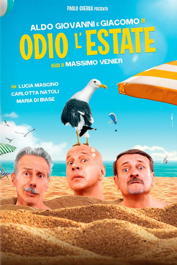 Odio l'estate poster Italia