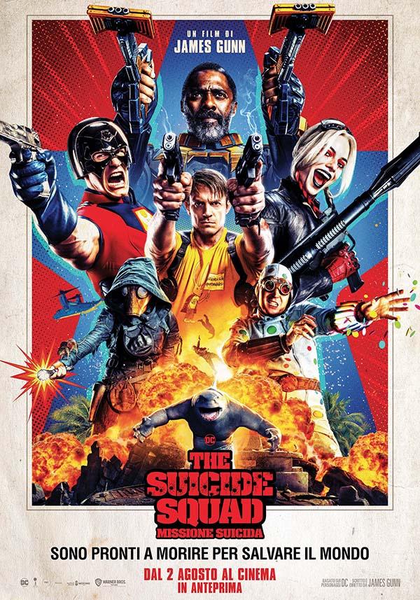 The Suicide Squad – Missione Suicida Poster Italia_Dal 2 agosto al cinema in anteprima