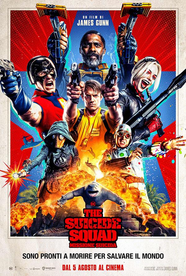 The Suicide Squad – Missione Suicida_Poster Italia