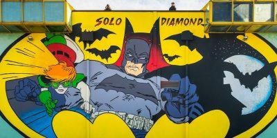 PANINI COMICS  PORTA BATMAN  A MODENA