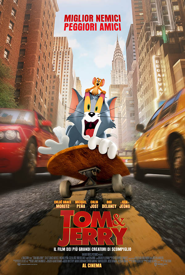 Tom & Jerry_Poster Italia