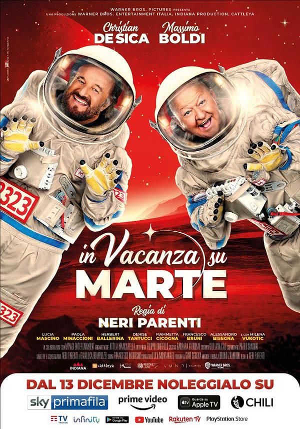 In Vacanza su Marte_Digital Poster