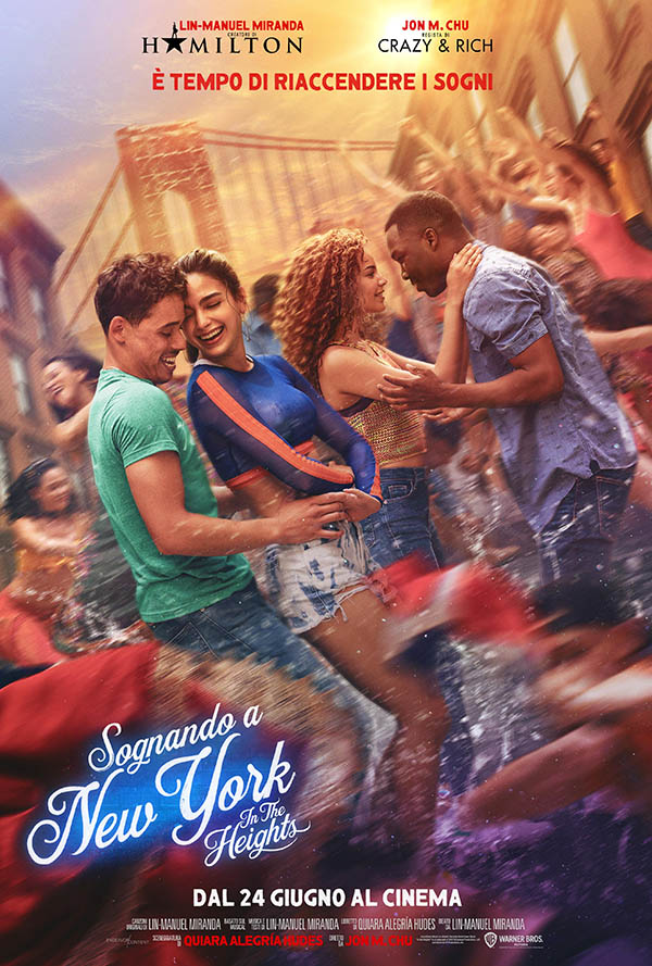 Sognando a New York   In the Heights_Poster Italia