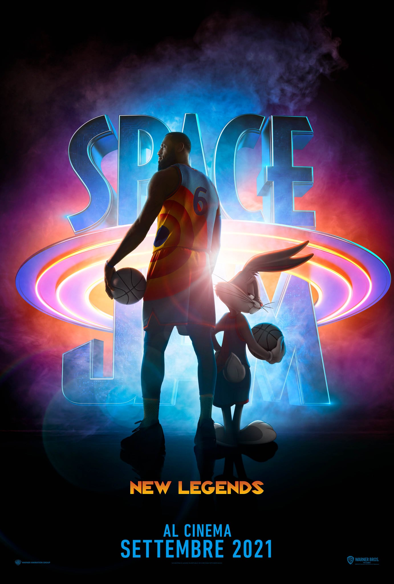 Space Jam   A New Legacy_Teaser Poster Italia