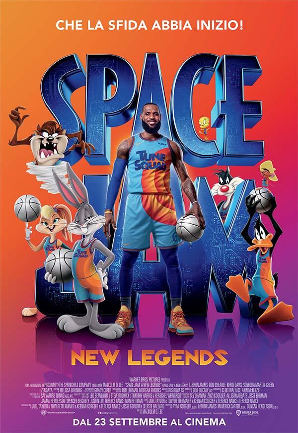 Space Jam   New Legends_Poster Italia