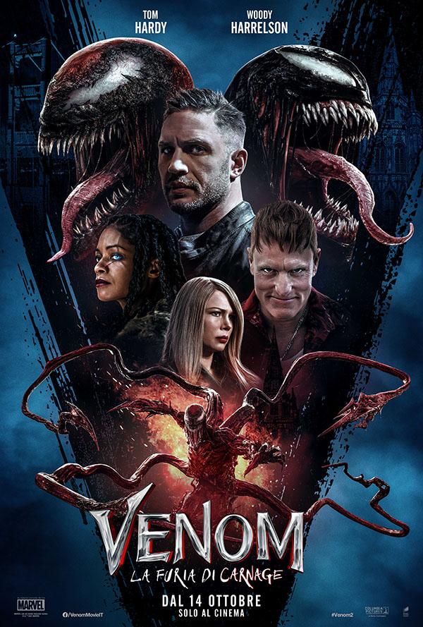 Venom   La furia di Carnage_Poster Italia
