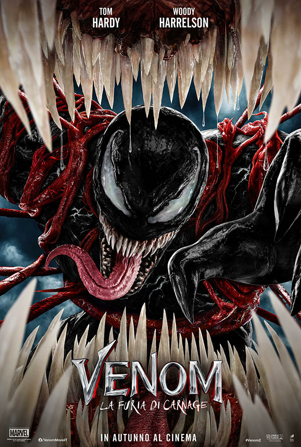 Venom   La furia di Carnage_Teaser Poster Italia