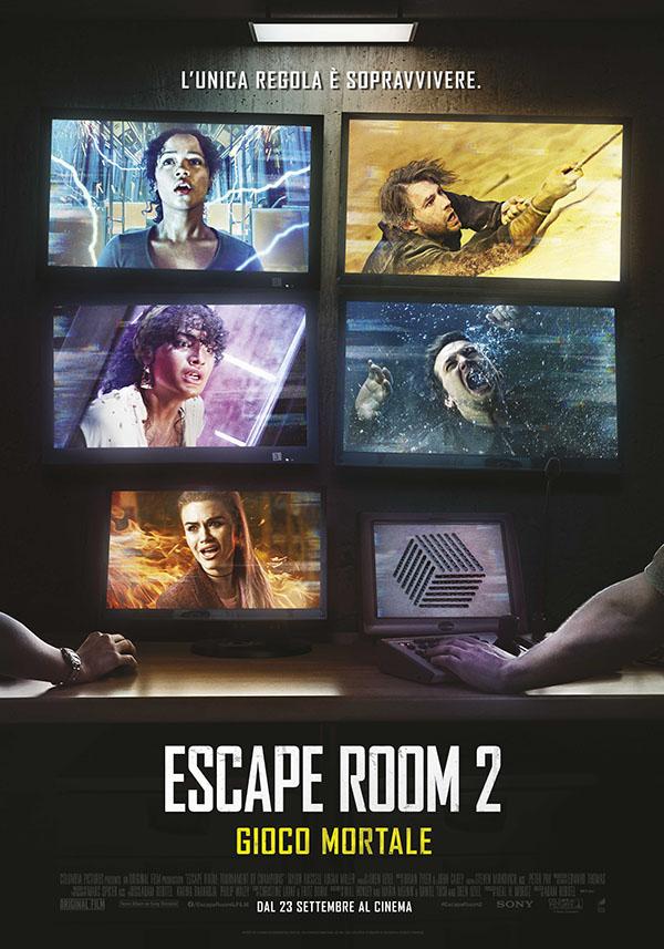 Escape Room 2 Gioco Mortale_Poster Italia