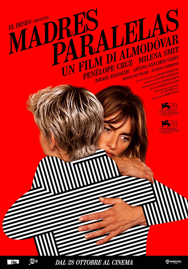 Madres Paralelas_Poster Italia