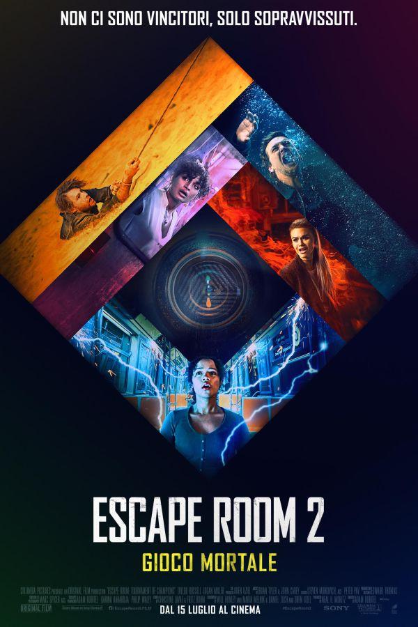 escape room 2 poster italiano