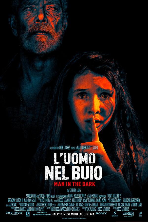 L'uomo nel buio   Man in the dark_Poster Italia