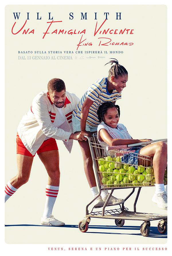 Una Famiglia Vincente   King Richard_Poster Italia