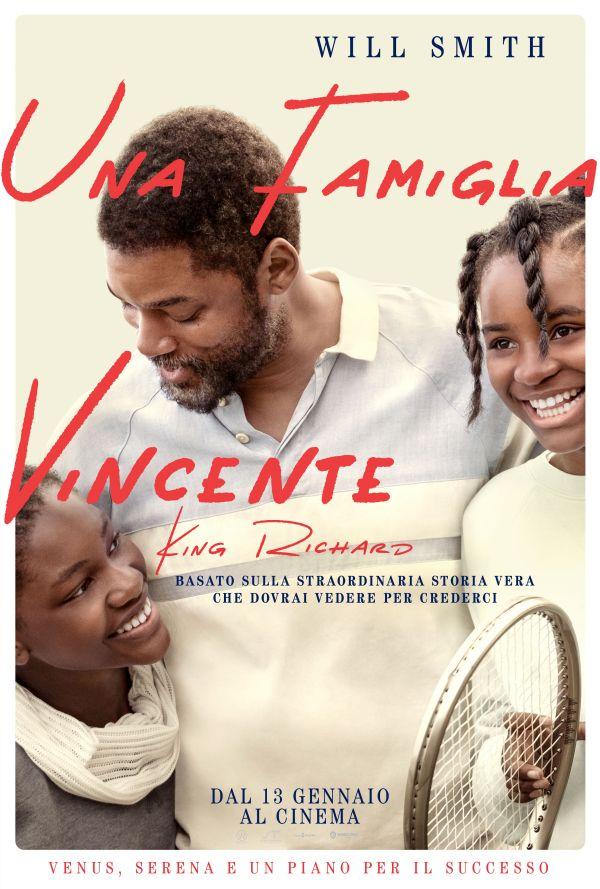 Una Famiglia Vincente_Poster Italia