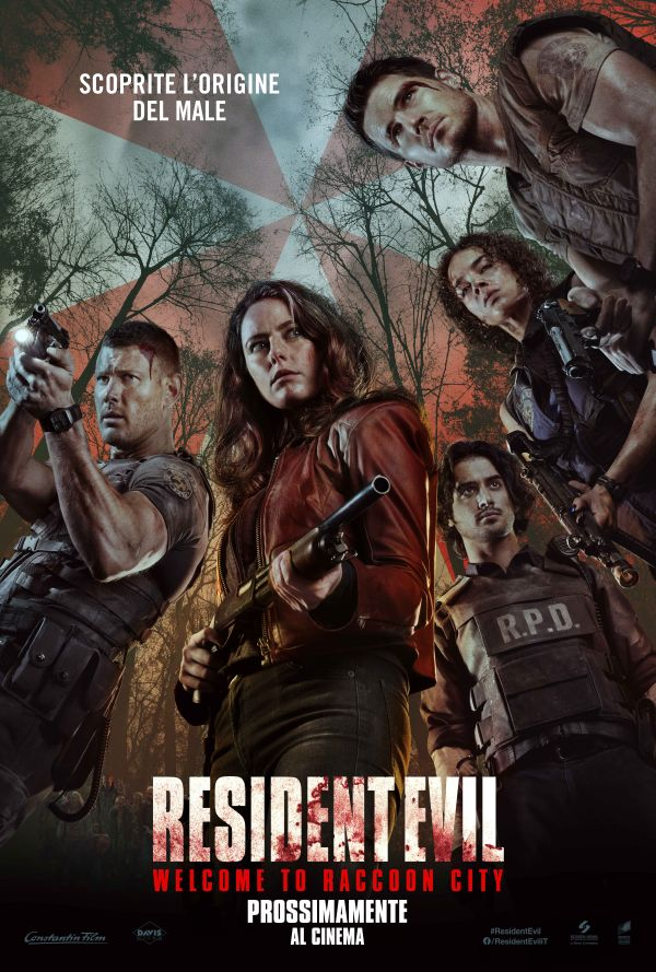 Resident Evil Welcome To Raccoon City Poster Italia 1